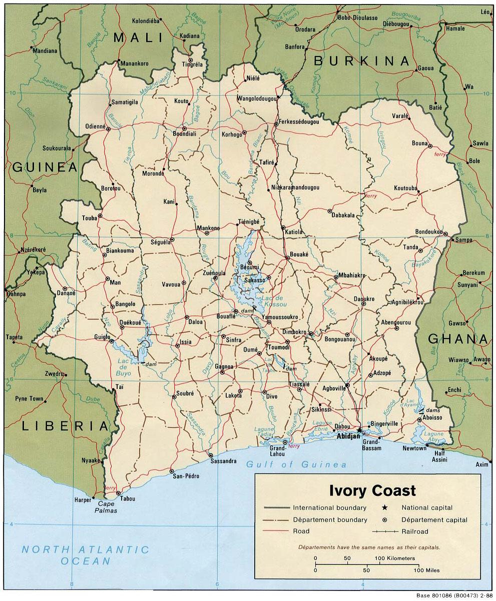 IEM Base in Abidjan Cote dIvoire West Africa